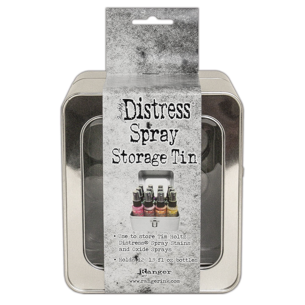 Tim Holtz DISTRESS SPRAY STORAGE TIN tda68068 zoom image