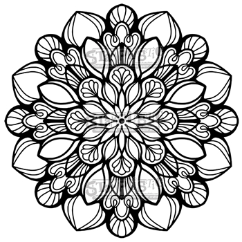 Stamplistic Cling Stamp ETERNAL BLOOM k190801