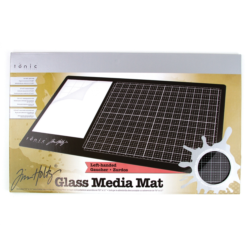 Tim Holtz Tonic LEFT HANDED GLASS MEDIA MAT 1913e zoom image