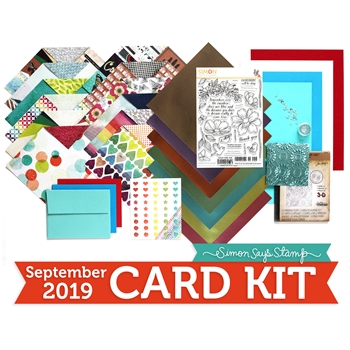 Simon Says Stamp Card Kit of The Month SEPTEMBER 2019 LOOK FOR THE RAINBOWS ck0919