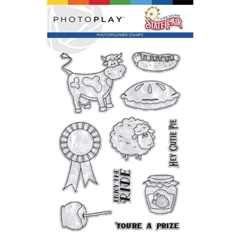 PhotoPlay STATE FAIR Clear Stamps stf9569