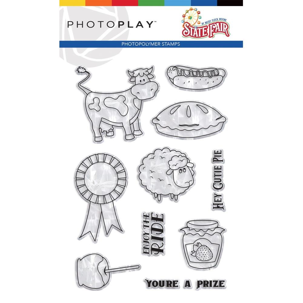 PhotoPlay STATE FAIR Clear Stamps stf9569 zoom image