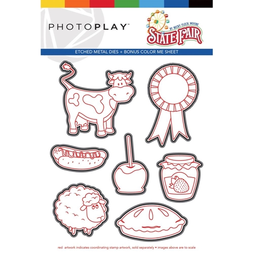 PhotoPlay STATE FAIR Die Set stf9570 Preview Image
