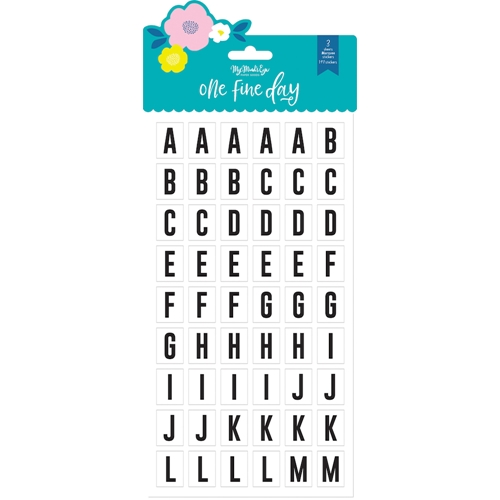 My Mind's Eye ONE FINE DAY Marquee Stickers fnd122 Preview Image