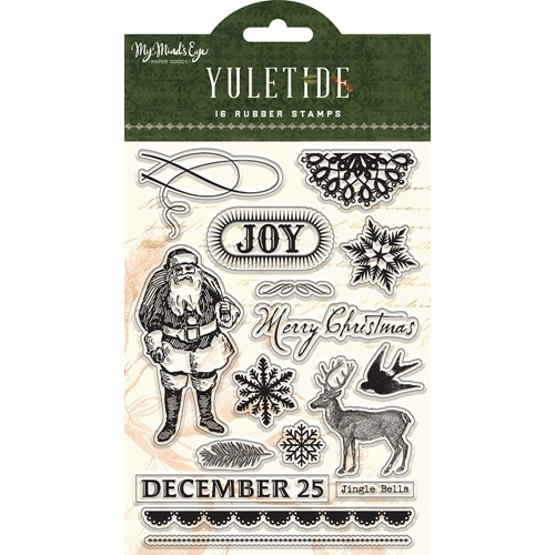 My Mind's Eye YULETIDE Clear Stamps ytd120 Preview Image