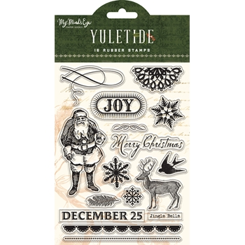 My Mind's Eye YULETIDE Clear Stamps ytd120