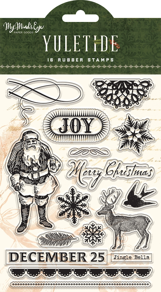 My Mind's Eye YULETIDE Clear Stamps ytd120 zoom image