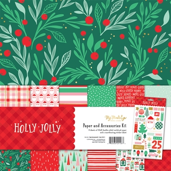 My Mind's Eye HOLLY JOLLY 12 x 12 Collection Pack hjl111
