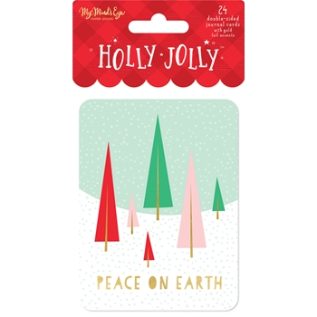My Mind's Eye HOLLY JOLLY Journal Cards hjl115