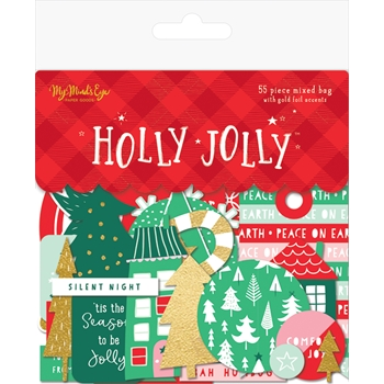 My Mind's Eye HOLLY JOLLY Mixed Bag hjl116