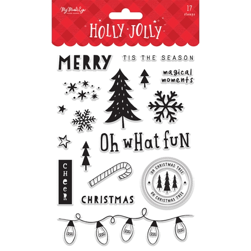 My Mind's Eye HOLLY JOLLY Clear Stamps hjl120 Preview Image