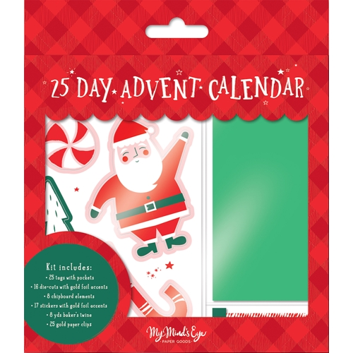 My Mind's Eye HOLLY JOLLY Advent Kit hjl121 Preview Image