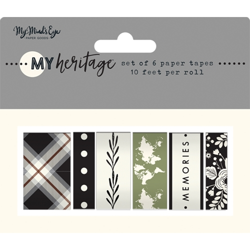 My Mind's Eye MY HERITAGE Washi Tape her119 Preview Image