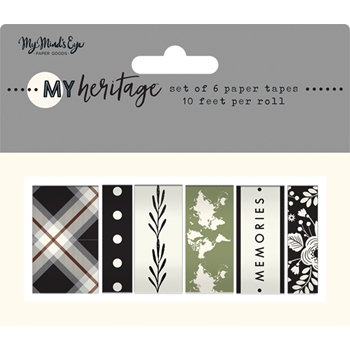 My Mind's Eye MY HERITAGE Washi Tape her119