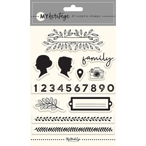 My Mind's Eye MY HERITAGE Clear Stamps her122* Preview Image