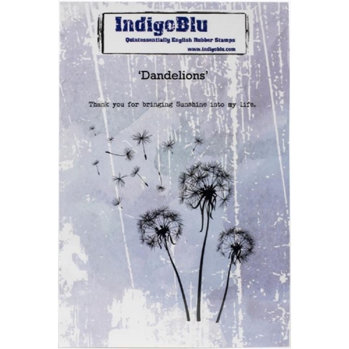 Indigoblu Cling Stamp DANDELIONS ind0529 Preview Image