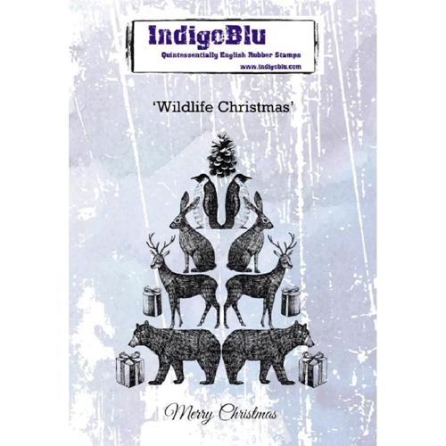 IndigoBlu Cling Stamp WILDLIFE CHRISTMAS ind0552 Preview Image