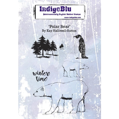 IndigoBlu Cling Stamp POLAR BEAR ind0551 Preview Image
