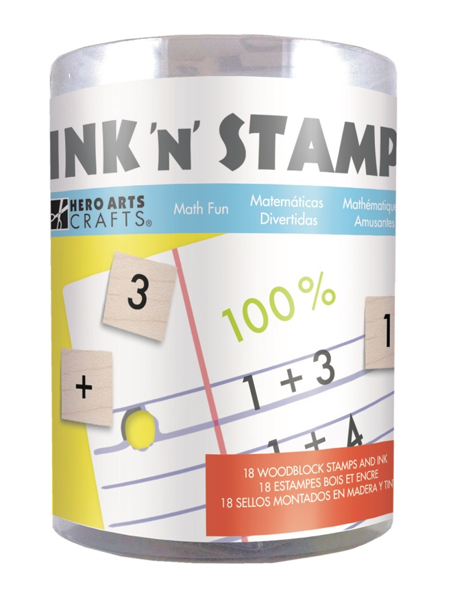 Hero Arts Ink N Stamp MATH FUN LP491 zoom image