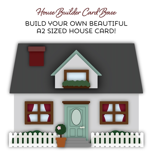 Honey Bee HOUSE BUILDER CARD BASE Dies hbds-hbc Preview Image