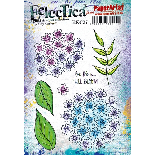 Paper Artsy ECLECTICA3 KAY CARLEY 27 Cling Stamp ekc27 Preview Image