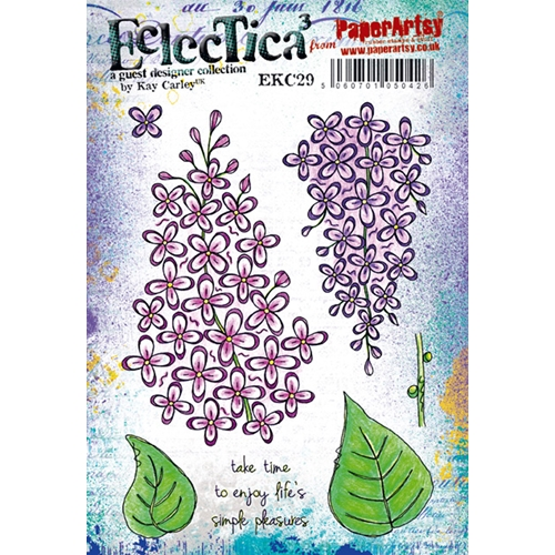 Paper Artsy ECLECTICA3 KAY CARLEY 29 Cling Stamp ekc29 Preview Image