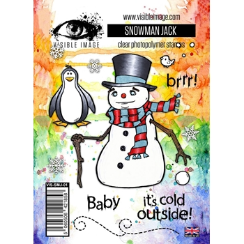 Visible Image SNOWMAN JACK Clear Stamp Set VIS-SMJ-01