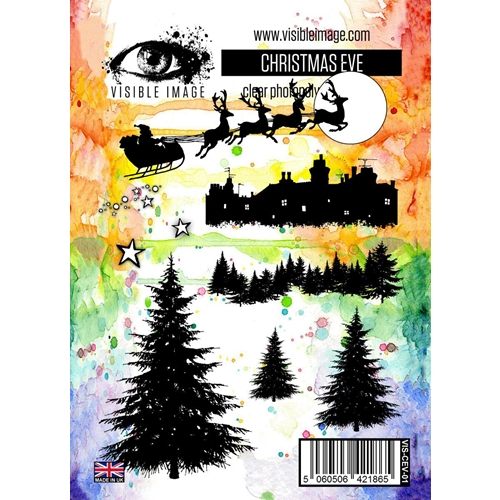 Visible Image CHRISTMAS EVE Clear Stamp Set VIS-CEV-01 Preview Image