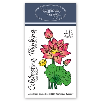Technique Tuesday LOTUS Clear Stamps 02587