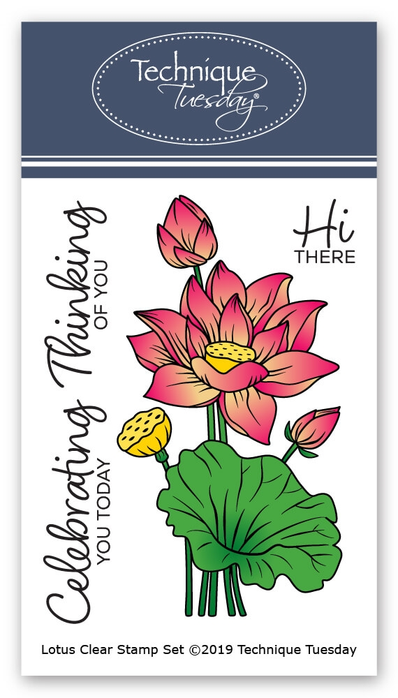 Technique Tuesday LOTUS Clear Stamps 02587 zoom image