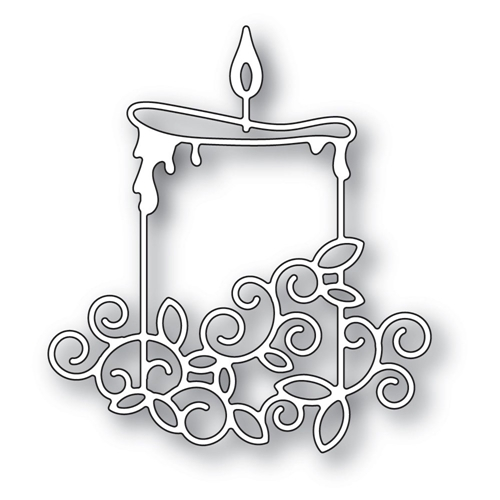 Memory Box GILDED WIDE CANDLE Craft Die 94293 Preview Image
