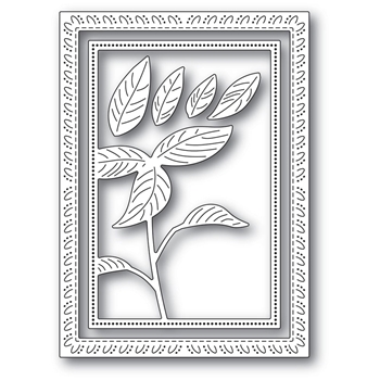 Memory Box SIMPLE POINSETTIA FRAME Craft Dies 94297
