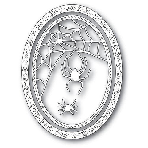 Memory Box SPIDER WEB OVAL FRAME Craft Dies 94311 Preview Image