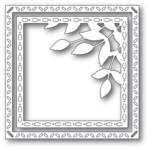 Memory Box LEAFY CORNER FRAME Craft Dies 94312 Preview Image