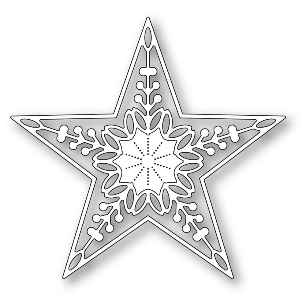 Memory Box CHANDELE STAR Craft Die 94317 zoom image