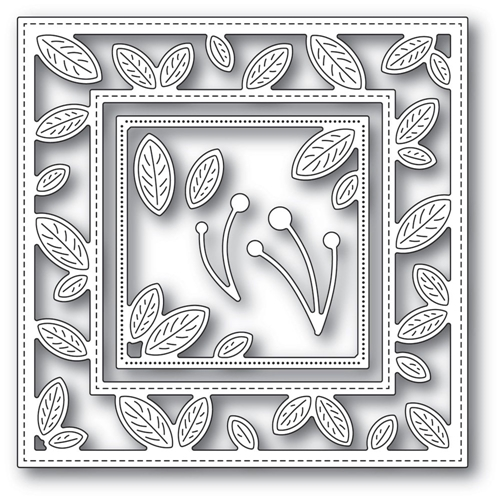 Memory Box PETITE LEAF FRAME Craft Dies 94318 Preview Image
