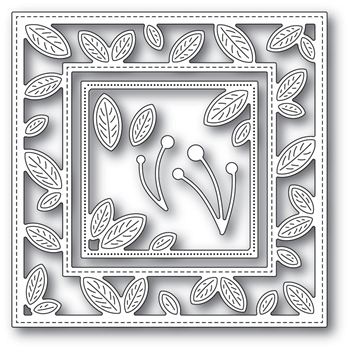 Memory Box PETITE LEAF FRAME Craft Dies 94318