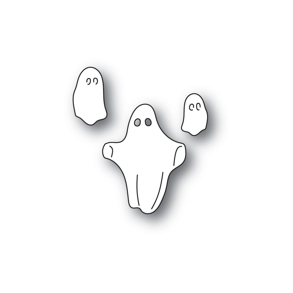 Memory Box FLOATING GHOSTS Craft Die 94322 zoom image