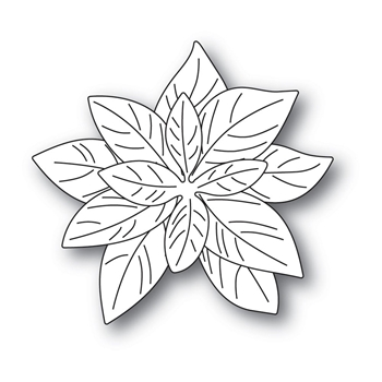 Poppy Stamps - Delicate Poinsettia