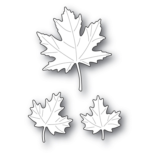 Poppy Stamps MAPLE TRIO Craft Dies 2232 Preview Image