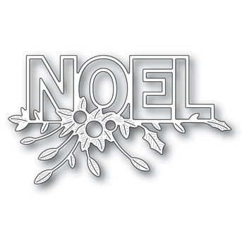 Poppy Stamps FESTIVE NOEL Craft Die 2240