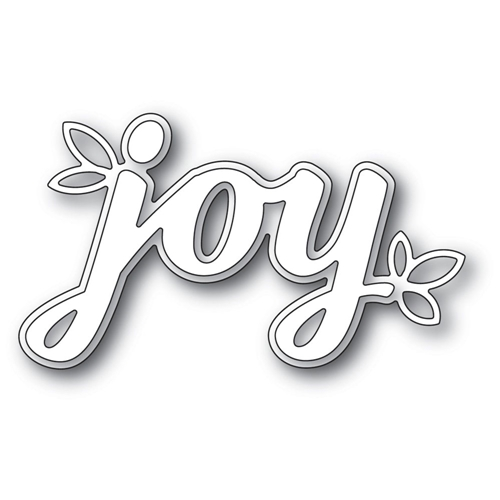 Poppy Stamps HOLIDAY JOY Craft Dies 2242 Preview Image