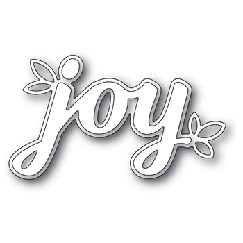 Poppy Stamps HOLIDAY JOY Craft Dies 2242