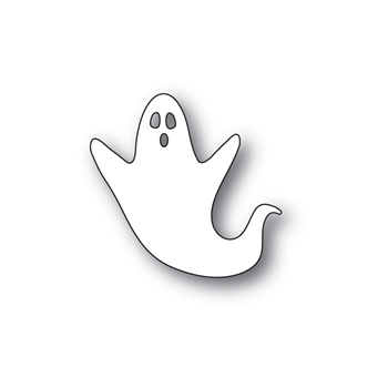 Poppy Stamps SCARY GHOST Craft Die 2249