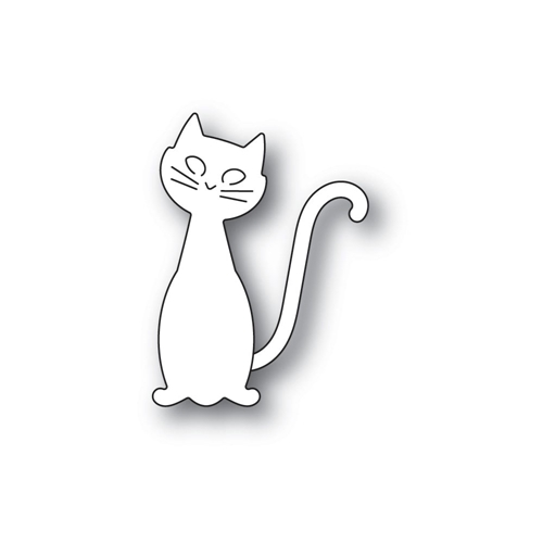 Poppy Stamps FRIENDLY CAT Craft Dies 2260 Preview Image