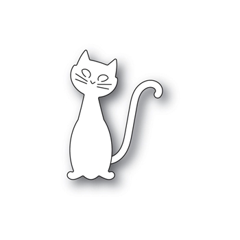 Poppy Stamps FRIENDLY CAT Craft Dies 2260