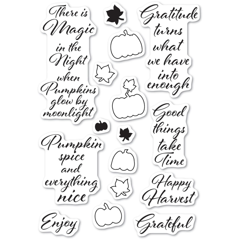 Poppy Stamps Clear Stamps PUMPKIN PATCH cl486 zoom image