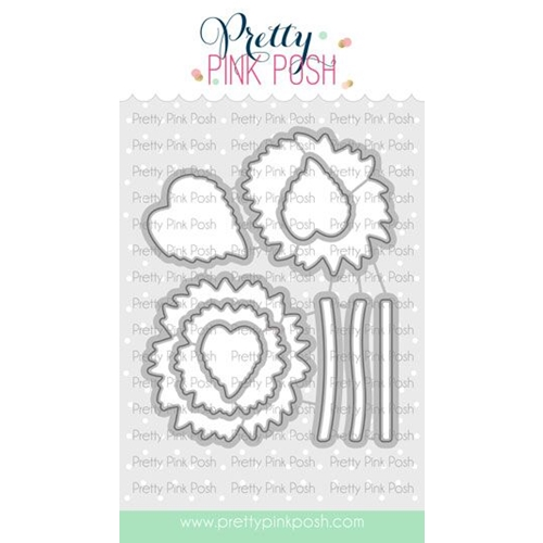 Pretty Pink Posh SUNFLOWERS Dies  Preview Image