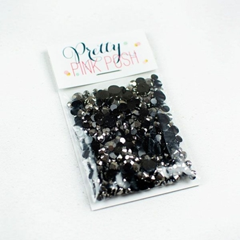 Pretty Pink Posh GRAPHITE Jewels Mix