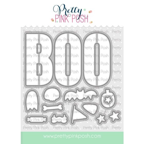 Pretty Pink Posh BOO Dies  Preview Image